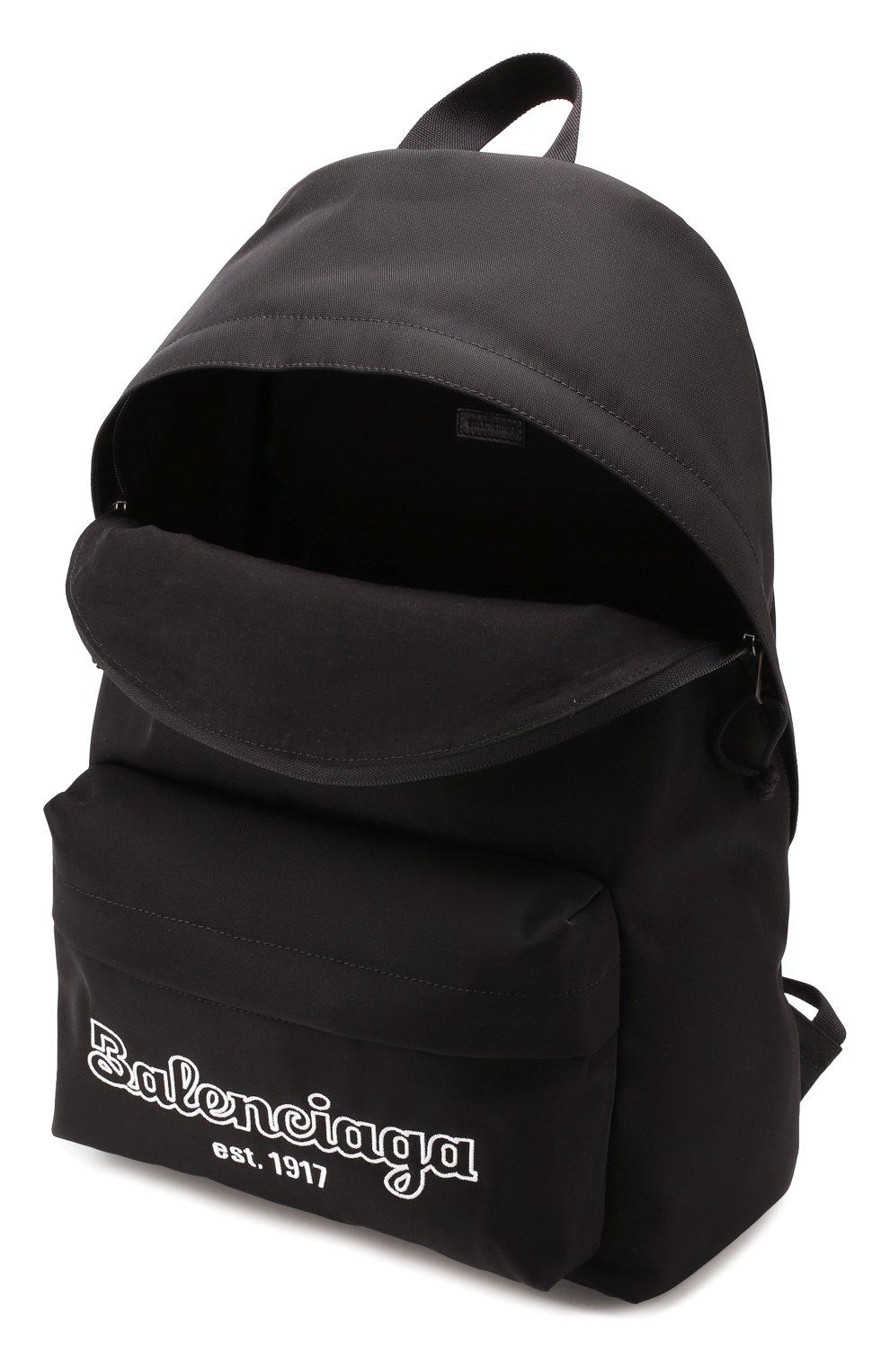 Мужской текстильный рюкзак est. 1917 explorer BALENCIAGA черного цвета, арт. 503221/9TY7R | Фото 4