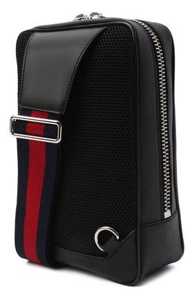 Мужская сумка gg supreme GUCCI черного цвета, арт. 478325/K9RRN | Фото 4