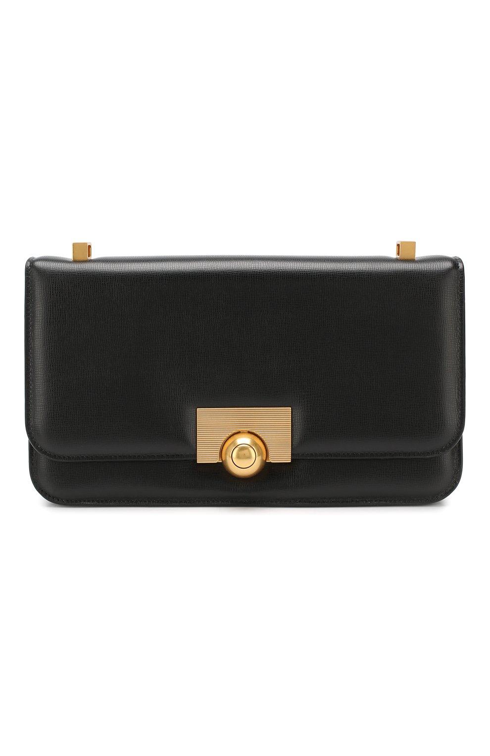 Женская сумка ronde BOTTEGA VENETA черного цвета, арт. 578009/VMA81   Фото 1