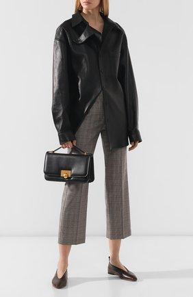 Женская сумка ronde BOTTEGA VENETA черного цвета, арт. 578009/VMA81   Фото 2