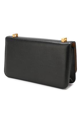 Женская сумка ronde BOTTEGA VENETA черного цвета, арт. 578009/VMA81   Фото 3