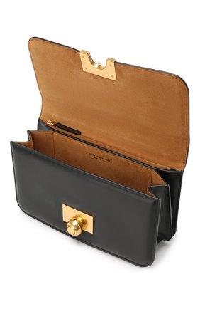 Женская сумка ronde BOTTEGA VENETA черного цвета, арт. 578009/VMA81   Фото 4