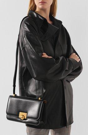 Женская сумка ronde BOTTEGA VENETA черного цвета, арт. 578009/VMA81   Фото 5
