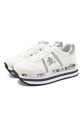 Кожаные кроссовки Beth | Фото №1