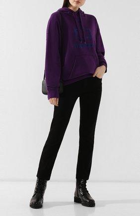 Женские кожаные ботинки PERTINI черного цвета, арт. 192W16199C1 | Фото 2