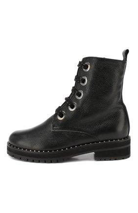 Женские кожаные ботинки PERTINI черного цвета, арт. 192W16199C1 | Фото 3