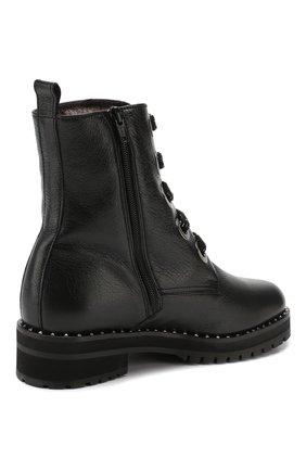 Женские кожаные ботинки PERTINI черного цвета, арт. 192W16199C1 | Фото 4