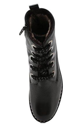Женские кожаные ботинки PERTINI черного цвета, арт. 192W16199C1 | Фото 5