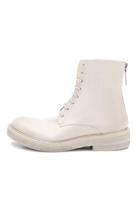 Женские кожаные ботинки MARSELL кремвого цвета, арт. MW2952/VIT.FI0RE V0L. | Фото 3