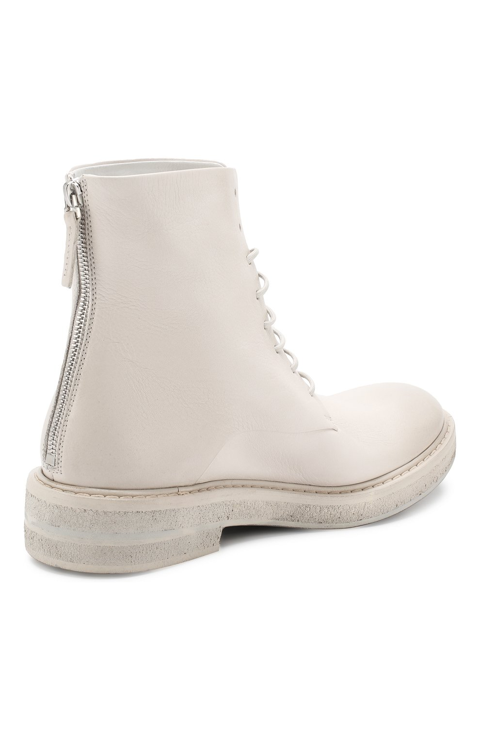 Женские кожаные ботинки MARSELL кремвого цвета, арт. MW2952/VIT.FI0RE V0L. | Фото 4