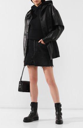 Женские кожаные ботинки MARSELL черного цвета, арт. MW5566/VACCH.V0L0NATA | Фото 2