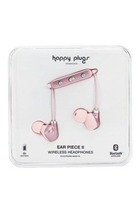 Мужские наушники earbud plus HAPPY PLUGS розового цвета, арт. 7613 | Фото 1
