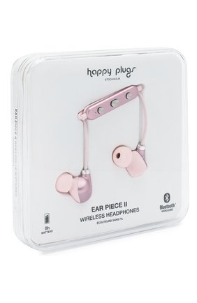 Мужские наушники earbud plus HAPPY PLUGS розового цвета, арт. 7613 | Фото 2
