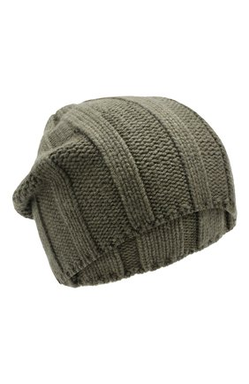 Мужская кашемировая шапка BRUNELLO CUCINELLI хаки цвета, арт. M2294000 | Фото 1