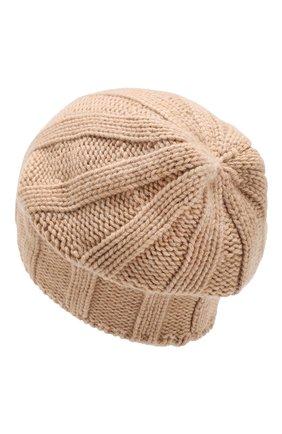 Мужская кашемировая шапка BRUNELLO CUCINELLI бежевого цвета, арт. M2294000 | Фото 2
