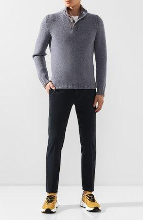Мужские джинсы MONCLER темно-синего цвета, арт. E2-091-11006-40-54515 | Фото 2