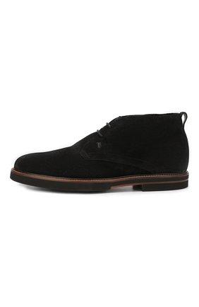Замшевые ботинки | Фото №3