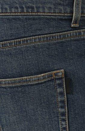 Мужские джинсы SAINT LAURENT темно-синего цвета, арт. 587035/YD964 | Фото 5