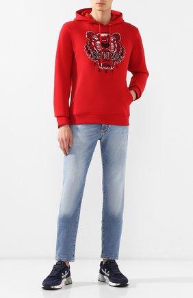 Мужские замшевые кроссовки mick PREMIATA темно-синего цвета, арт. MICK/VAR4016 | Фото 2