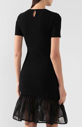 Платье из смеси шелка и вискозы   Фото №4