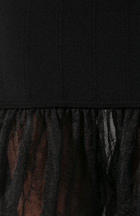 Платье из смеси шелка и вискозы   Фото №5