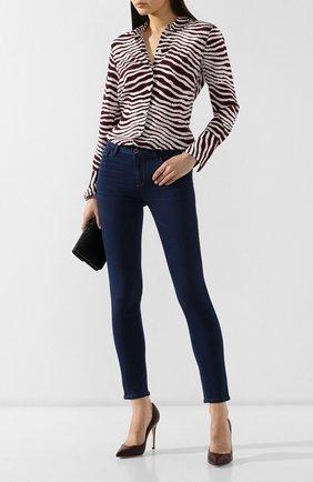 Женские джинсы PAIGE синего цвета, арт. 1764521-6365 | Фото 2