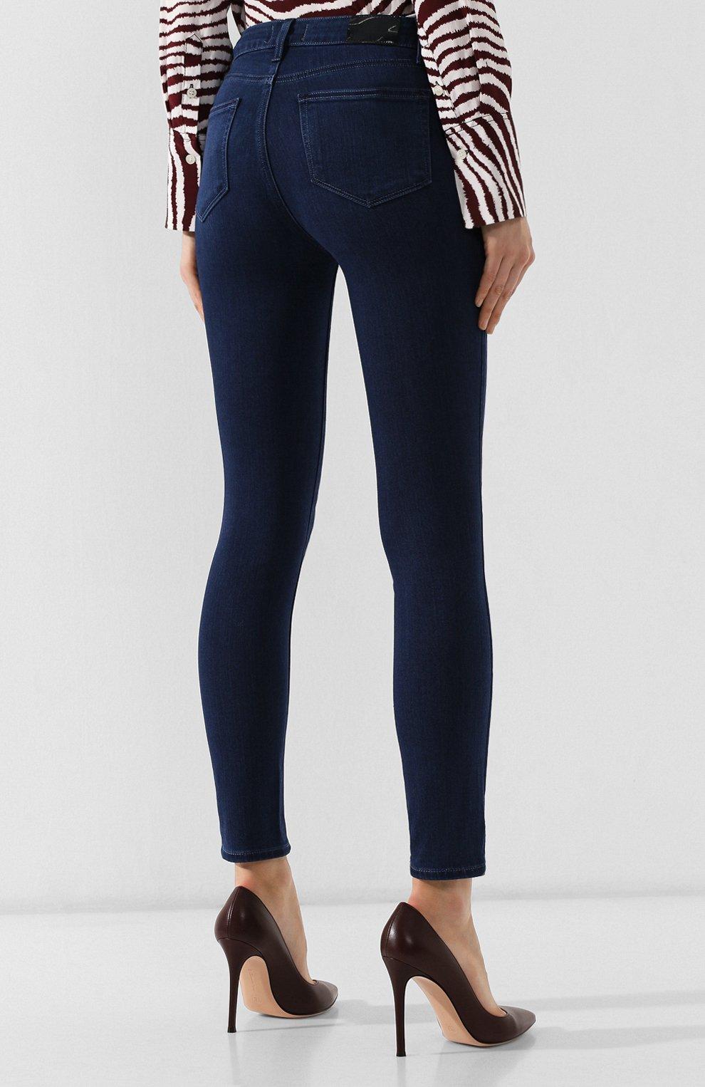 Женские джинсы PAIGE синего цвета, арт. 1764521-6365 | Фото 4