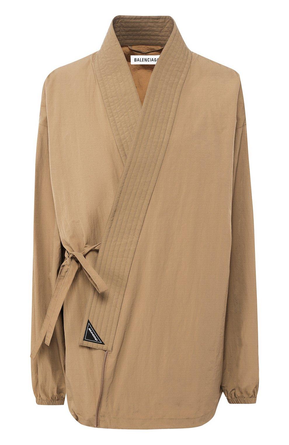 Женская куртка BALENCIAGA бежевого цвета, арт. 582845/TF005 | Фото 1