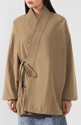 Женская куртка BALENCIAGA бежевого цвета, арт. 582845/TF005 | Фото 3