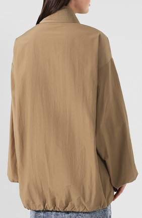Женская куртка BALENCIAGA бежевого цвета, арт. 582845/TF005 | Фото 4