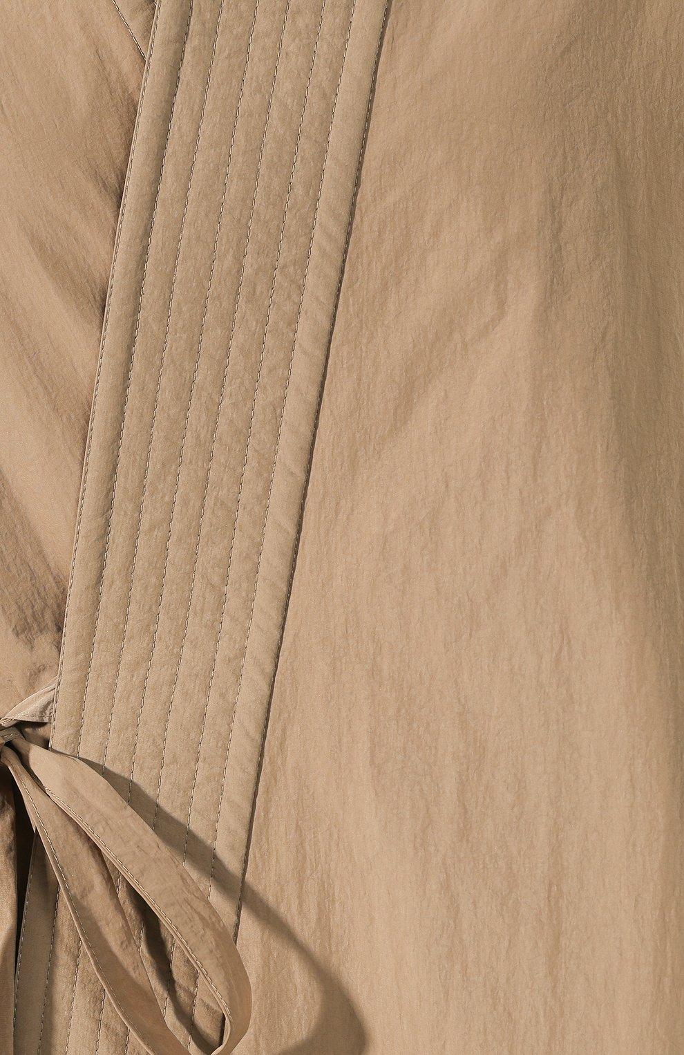 Женская куртка BALENCIAGA бежевого цвета, арт. 582845/TF005 | Фото 5