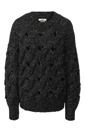 Пуловер фактурной вязки | Фото №1