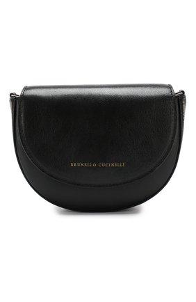 Поясная сумка Brunello Cucinelli черная | Фото №1