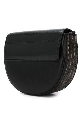 Поясная сумка Brunello Cucinelli черная | Фото №3