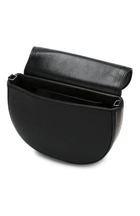 Поясная сумка Brunello Cucinelli черная | Фото №4
