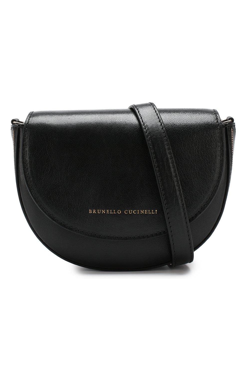 Поясная сумка Brunello Cucinelli черная | Фото №6