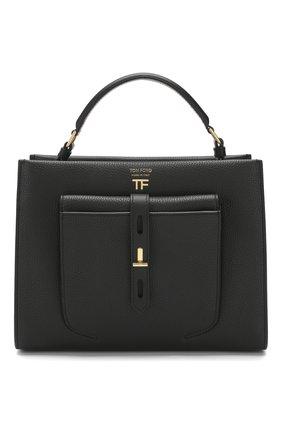 Женская сумка t twist small TOM FORD черного цвета, арт. L1203T-LCL008   Фото 1