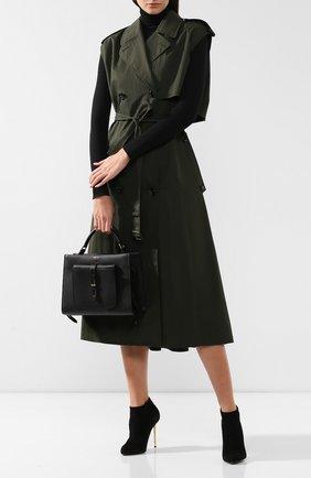 Женская сумка t twist small TOM FORD черного цвета, арт. L1203T-LCL008   Фото 2