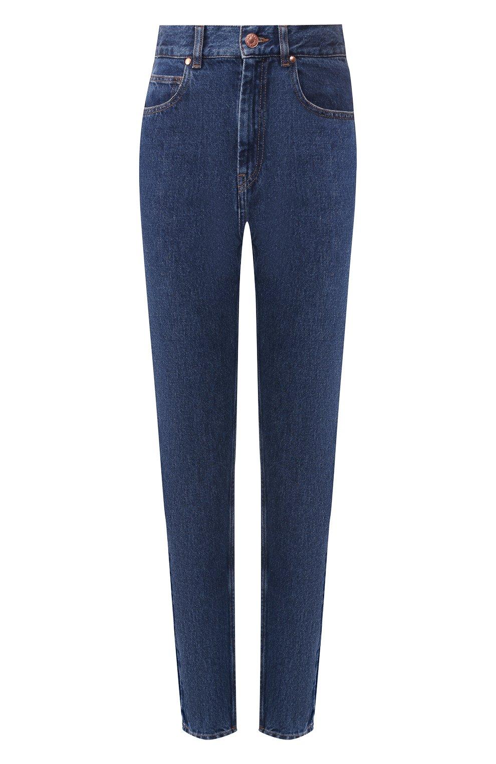 Женские джинсы ISABEL MARANT темно-синего цвета, арт. PA1358-19A017I/DUSTIN | Фото 1