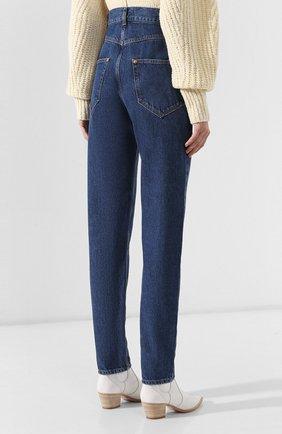 Женские джинсы ISABEL MARANT темно-синего цвета, арт. PA1358-19A017I/DUSTIN | Фото 4