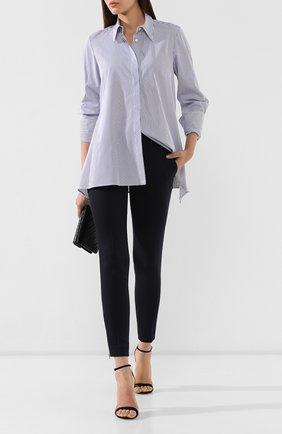 Женские шерстяные брюки STELLA MCCARTNEY синего цвета, арт. 531844/SY704 | Фото 2