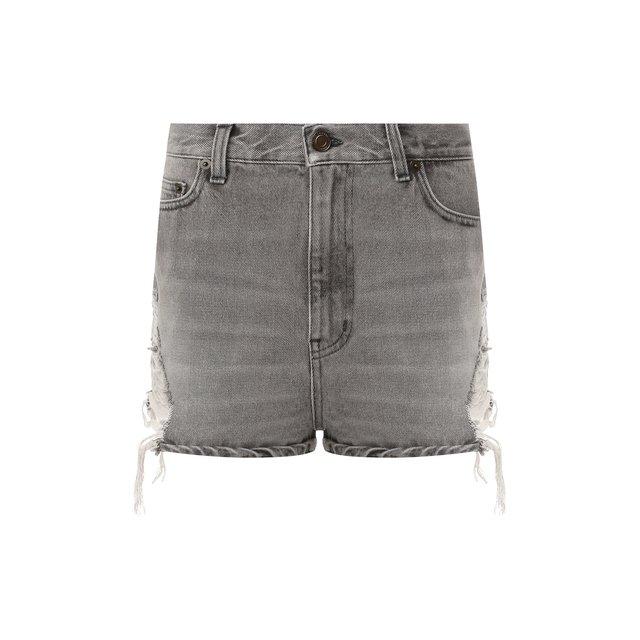 Джинсовые шорты Saint Laurent