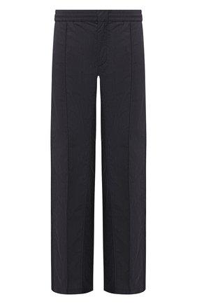 Мужской хлопковые брюки VALENTINO темно-синего цвета, арт. SV3RBC805AV | Фото 1