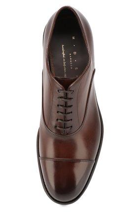 Мужские кожаные оксфорды H`D`S`N BARACCO коричневого цвета, арт. 59306.3* | Фото 5