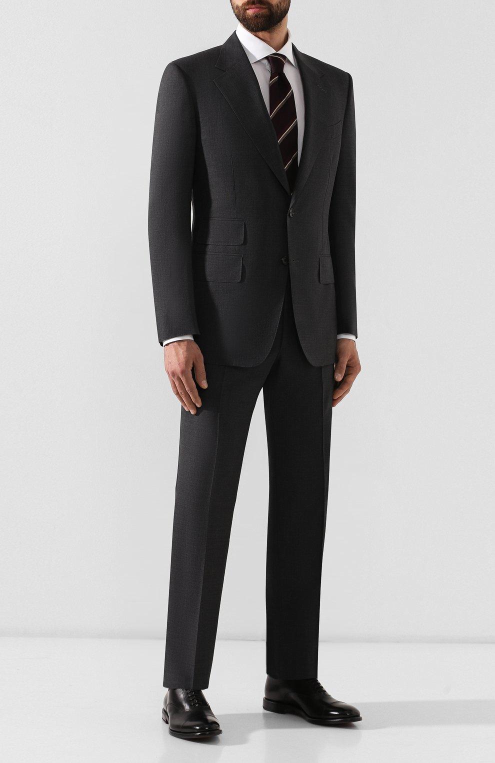 Мужские кожаные оксфорды H`D`S`N BARACCO черного цвета, арт. 59306.0* | Фото 2