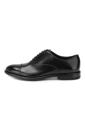 Мужские кожаные оксфорды H`D`S`N BARACCO черного цвета, арт. 59306.0* | Фото 3