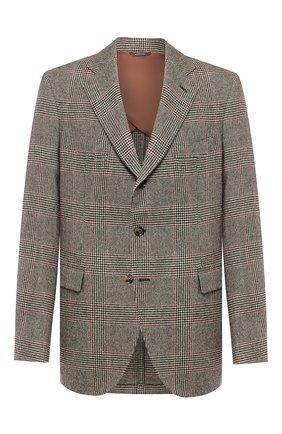 Мужской кашемировый пиджак LORO PIANA светло-коричневого цвета, арт. FAI7710 | Фото 1