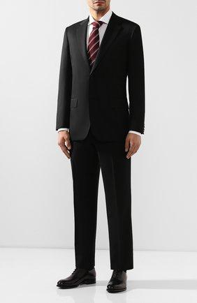 Мужской шерстяной костюм BRIONI черного цвета, арт. RAH00M/08AF5/PARLAMENT0 | Фото 1