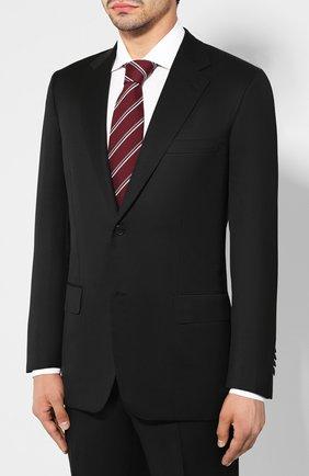 Мужской шерстяной костюм BRIONI черного цвета, арт. RAH00M/08AF5/PARLAMENT0 | Фото 2
