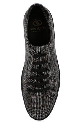 Мужские текстильные кеды ALDO BRUE серого цвета, арт. AB5035H-KNL   Фото 5